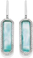 Monica Vinader Naida Rectangle Drop Earrings
