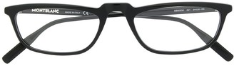 Montblanc Matte-Finish Square Frame Glasses