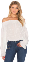 Endless Rose Long Sleeve Off The Shoulder Top