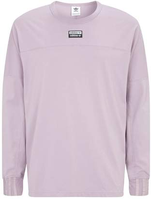 adidas Trefoil Logo Long-Sleeved T-Shirt