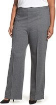 Melissa McCarthy Plus Size Women's Stretch Woven Trousers