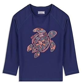 Unisex Kids Long Sleeves Rashguard Jungle Turtles Vilebrequin