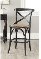 Safavieh American Homes Collection Franklin Hickory Oak 30.7-inch Counter Stool