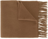 Ami Alexandre Mattiussi fringed scarf - men - Virgin Wool - One Size