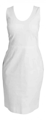 Dolce & Gabbana White Cotton Dresses