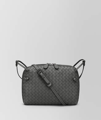 Bottega Veneta LIGHT GREY INTRECCIATO NAPPA LEATHER NODINI BAG