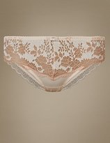 M&S Collection Artisan Lace Brazilian Knickers