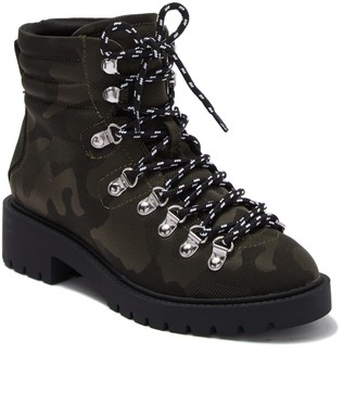 Steve Madden Geiger Lace-Up Combat Boot