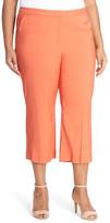 Classiques Entier &Alexia& Stretch Woven Crop Pants (Plus Size)