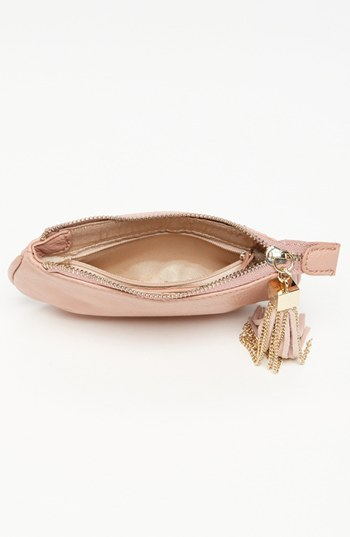 Izzy & Ali 'Stevie' Faux Leather Coin Purse