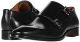 Massimo Matteo Perf Double Monk (Black) Men's Shoes