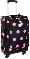 Jenni Chan Dots 20-Inch Spinner Carry-On