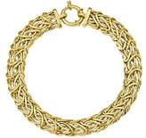 QVC 14K Gold Byzantine Bracelet, 9.3g