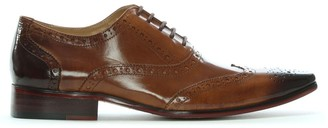 Daniel Milverton Tan Leather Lace Up Brogues
