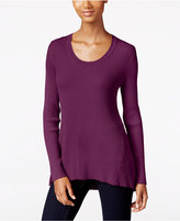 Style&Co. Style & Co. Petite Scoop-Neck Sweater, Only at Macy's