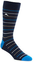 Tommy Bahama Baha Striped Crew Socks