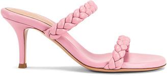 Gianvito Rossi Braided Sandals in Glaze | FWRD