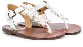 Pépé Star Open-Toe Sandals