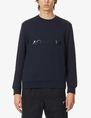 Moncler Logo-print cotton sweatshirt