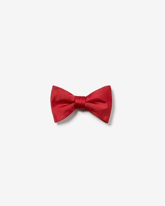 Express Solid Bow Tie