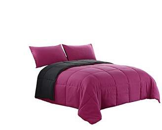 Cozy Beddings Down Alternative 3pc Reversible Comforter Set Full/Queen