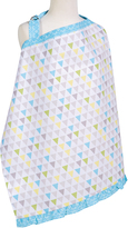 Trend Lab Blue & Yellow Triangles Nursing Cover