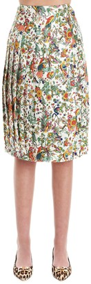 Tory Burch Floral Print Skirt