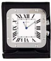 Cartier Santos Travel Clock