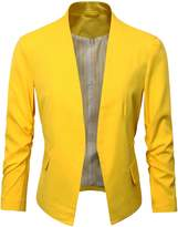 Benibos Women's Folding Sleeve Office Blazer