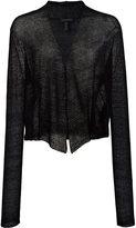 Eileen Fisher V-neck blouse - women - Hemp/Nylon - XL