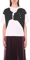 Christopher Kane Romeo & Juliet cotton t-shirt