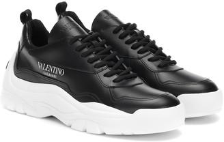 Valentino Gumboy leather sneakers