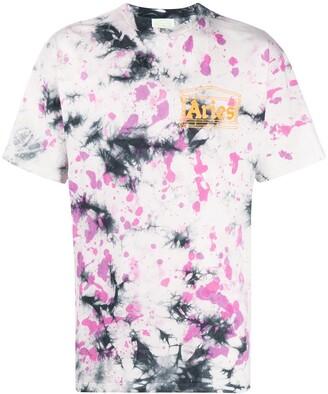Aries tie-dye print T-shirt