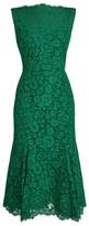Dolce & Gabbana Sleeveless Lace Midi Dress
