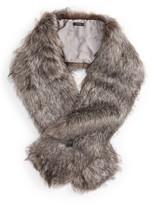 Halogen Women's Faux Fox Fur Stole