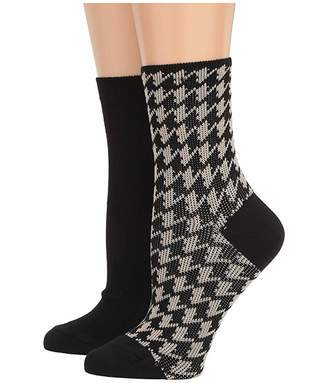 Hue Wintersoft Cropped Boot Socks 2-Pair Pack