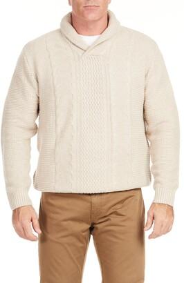 Johnny Bigg Kingston Shawl Collar Sweater