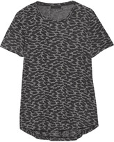 Belstaff Posy printed stretch-jersey T-shirt