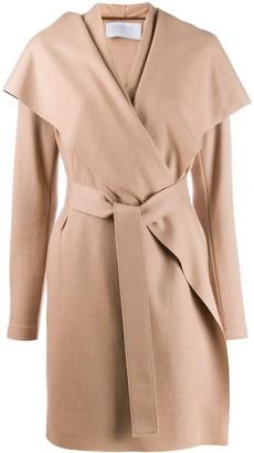 Harris Wharf London Wrap Coat