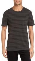 James Perse Men's Retro Stripe Pocket T-Shirt