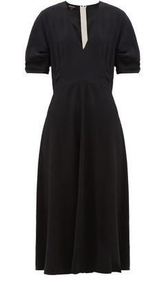 Rochas Twill Cady Dress - Black