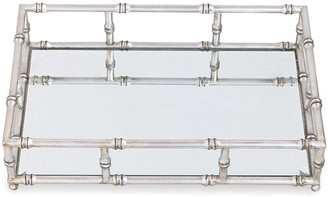 "Port 68 24"" Doheny Tray - Silver/Mirror"