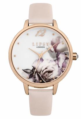 Lipsy Womens Analogue Classic Quartz Watch with PU Strap LP595