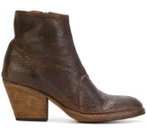 Officine Creative textured ankle boots