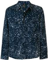 Paul Smith Paint Splash print shirt jacket