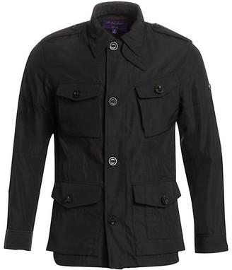 Ralph Lauren Purple Label Wrexham Four-Pocket Button-Down Shirt