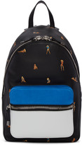 Alexander Wang Black Leather Berkeley Bikini Backpack