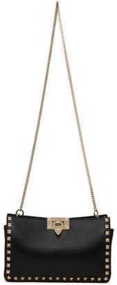 Valentino Black Garavani Small Rockstud Clutch Bag