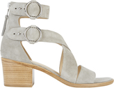 Rag & Bone Mari Suede Cross Strap Sandals
