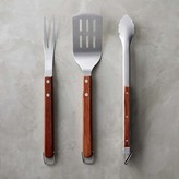Williams-Sonoma Williams Sonoma Rosewood BBQ Tools, Set of 3